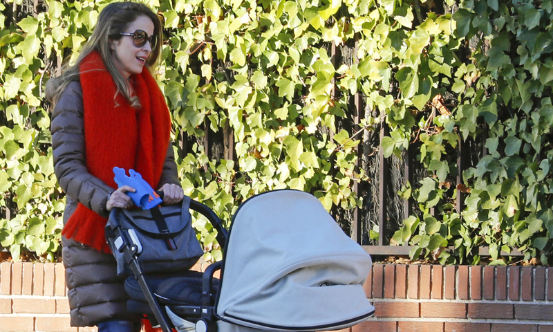 La felicidad de Silvia Abascal en su primer año como mamá