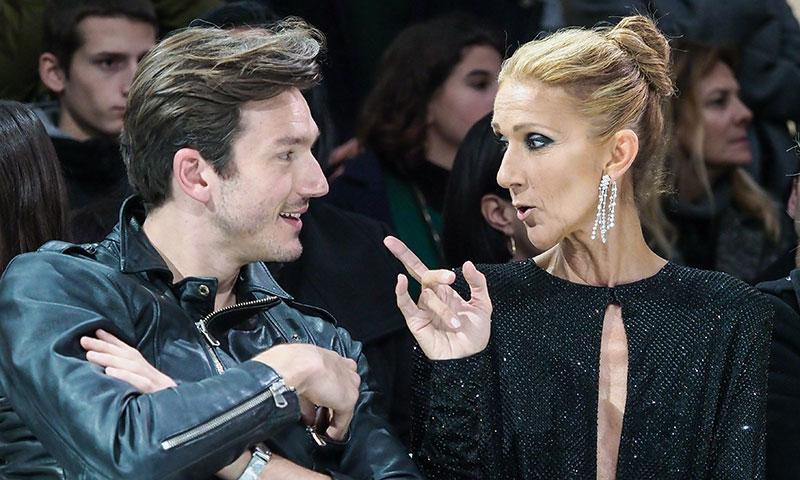Céline Dion y Pepe Muñoz muestran su complicidad en la Alta Costura de París