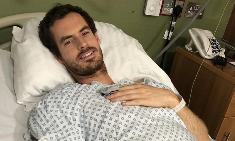 Andy Murray pasa por el quirófano para operarse la cadera
