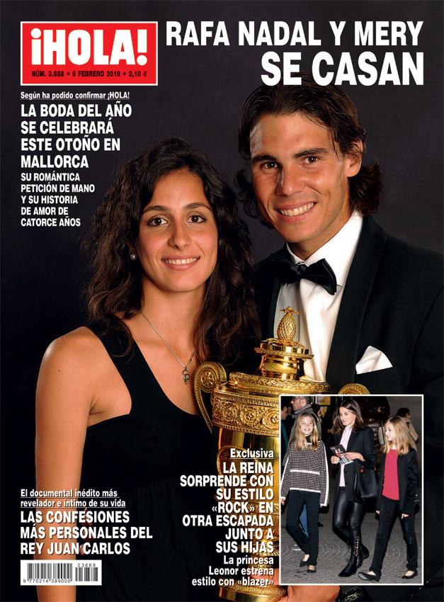 Rafa Nadal y Mery Perelló
