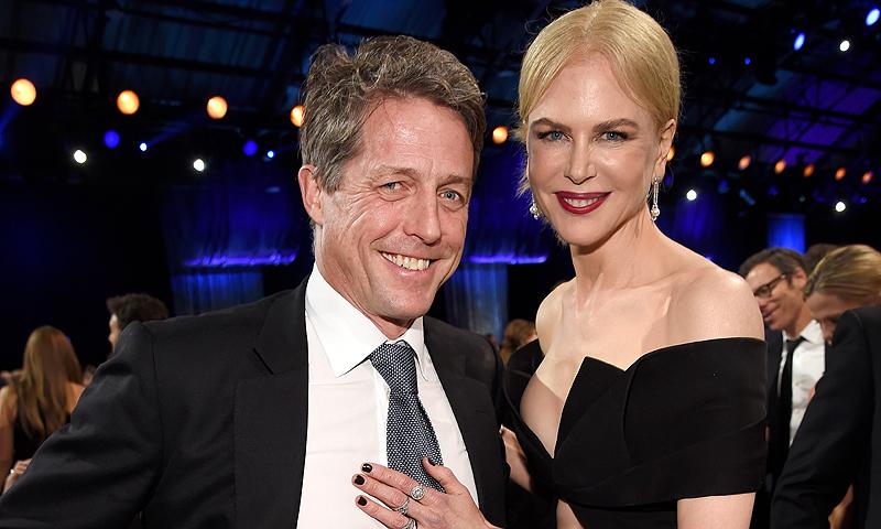 Nicole Kidman y Hugh Grant serán pareja en su nueva miniserie