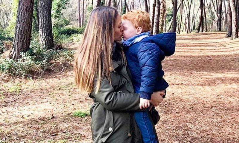¡Pura ternura! El divertido vídeo de Helen Lindes con su hijo Alan