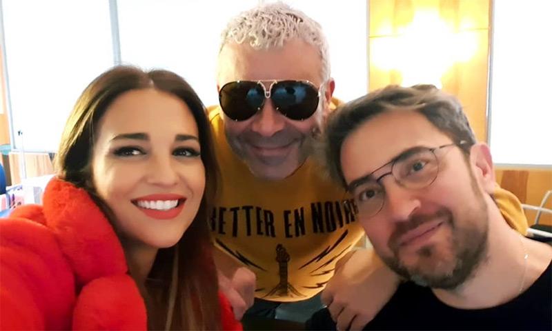 La razón por la que Paula Echevarría, Jorge Javier Vázquez y Màxim Huerta casi pierden el tren