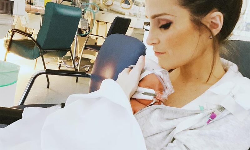 Verdeliss recibe el alta, pero su hija continúa ingresada: 'Qué sensación tan extraña salir sin nuestro bebé'