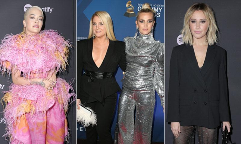 Numerosos artistas se van de fiesta horas antes de la gala de los Premios Grammy 2019