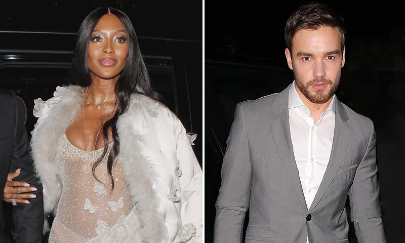 ¡Se avivan los rumores! Naomi Campbell y Liam Payne vuelven a coincidir en una fiesta