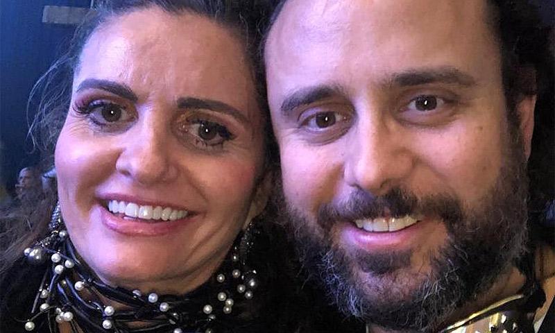 La española que se codeó con Leo DiCaprio, Sharon Stone y otras estrellas de Hollywood en la noche de los Grammy
