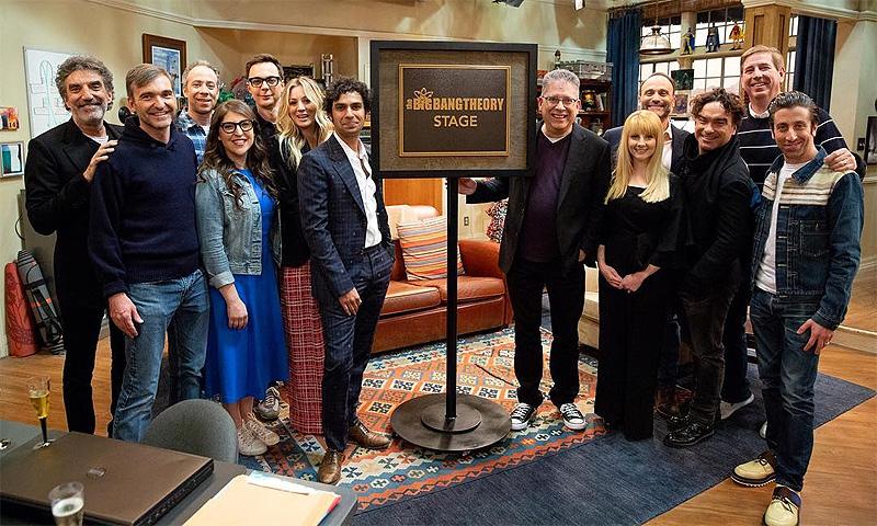 La sorpresa musical del elenco de 'The Big Bang Theory' por el final de la serie