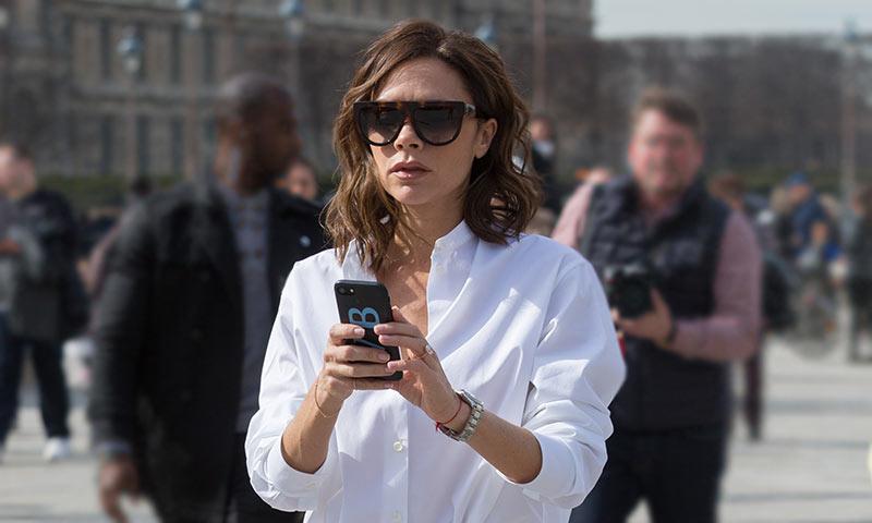 No es oro todo lo que reluce: Victoria Beckham muestra 'en directo' su día a día