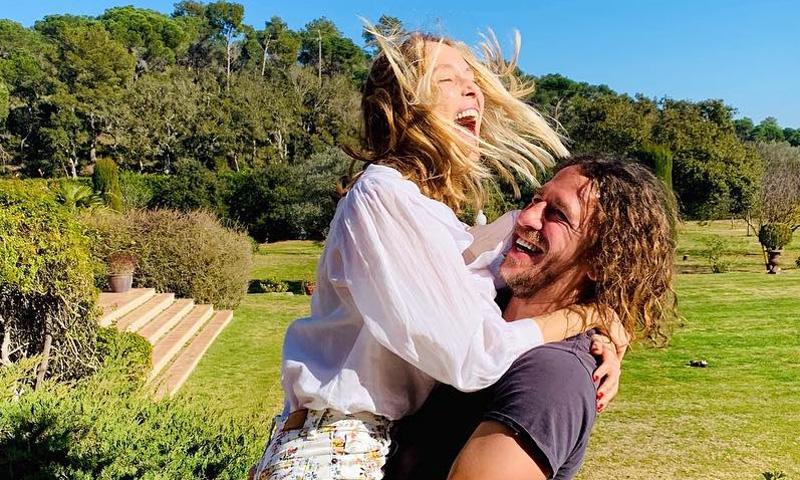 El reencuentro de Vanesa Lorenzo y Carles Puyol que nos hace creer en el amor