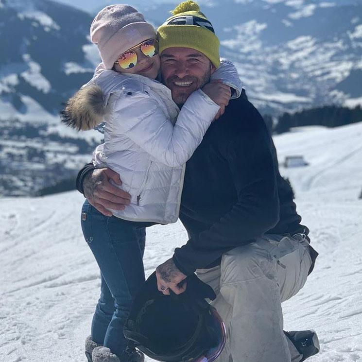 Los Beckham al completo disfrutan de un fin de semana de deporte y  diversión en la b94b12f90d412