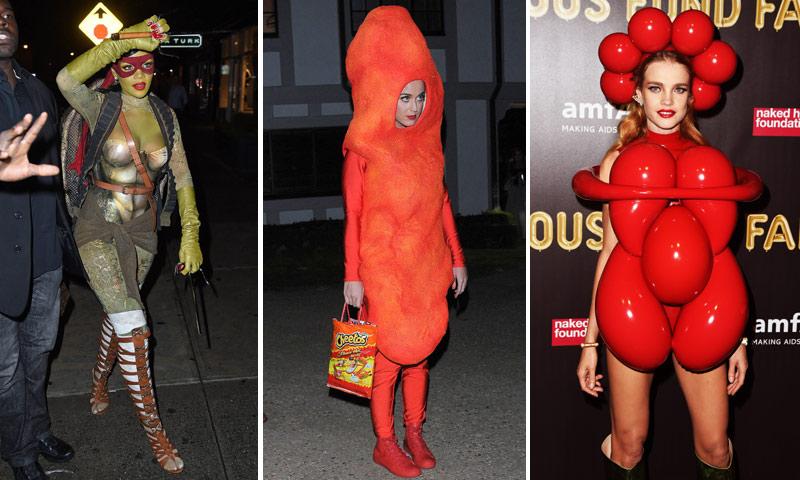 Ya llega Carnaval: inspírate en los disfraces más originales de las 'celebrities'