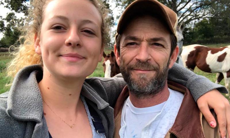 La hija de Luke Perry se despide de su padre con un emotivo mensaje