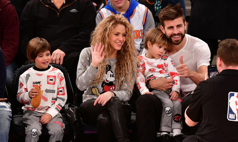 Shakira rescata de su álbum personal esta tierna imagen de Piqué y su hijo Sasha