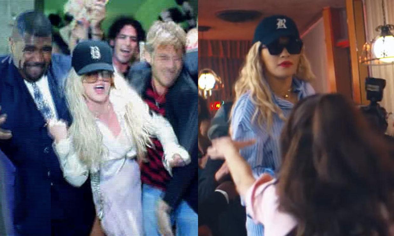 El homenaje de Rita Ora a Britney Spears en su último videoclip