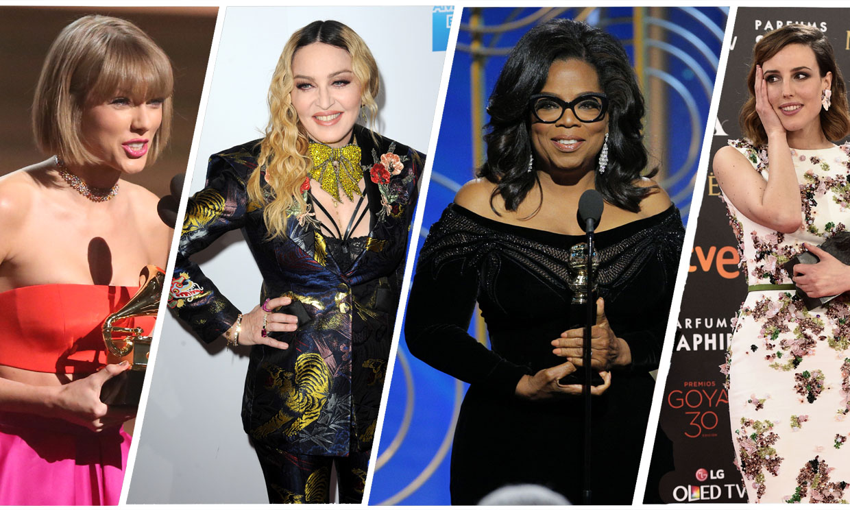 Madonna, Taylor Swift, Oprah... Los discursos feministas más inspiradores de las 'celebrities'