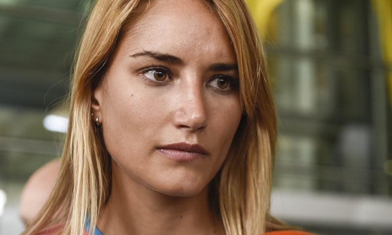 Alba Carrillo hace una contundente petición a Thibaut Courtois antes de abandonar las redes