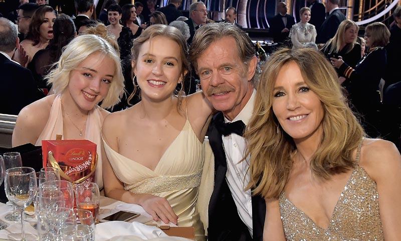 La actriz Felicity Huffman, en libertad bajo fianza, y sus hijas, en el punto de mira por fraude universitario