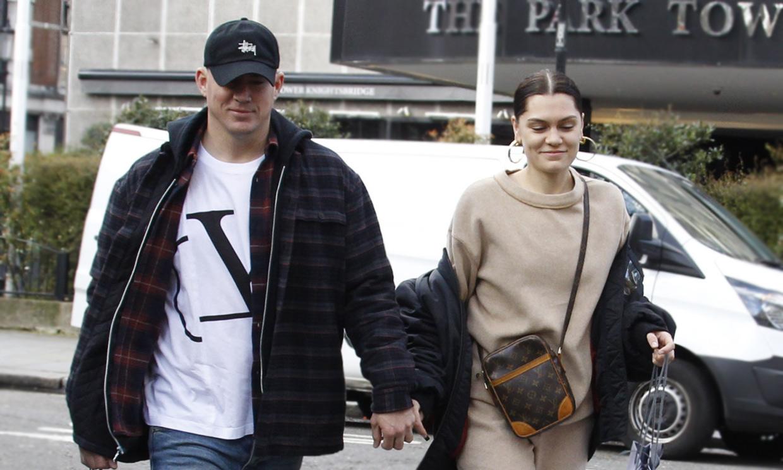 ¡Por fin! Jessie J y Channing Tatum confirman su amor con un romántico paseo por Londres