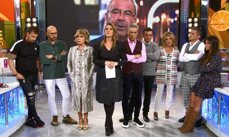 Carlota Corredera y Mila Ximénez no pueden evitar las lágrimas al hablar de Jorge Javier: 'Ha sido un gran susto'