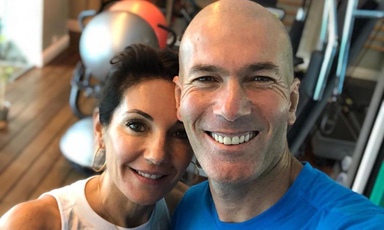 Zidane y su romántico regalo de cumpleaños para su mujer, con la que lleva tres décadas