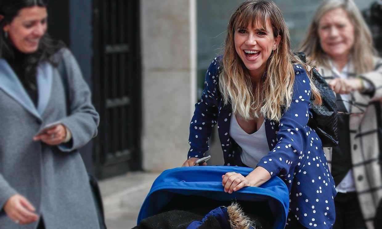 Una mamá todoterreno: Aina Clotet se lleva a su bebé al Festival de Cine Málaga