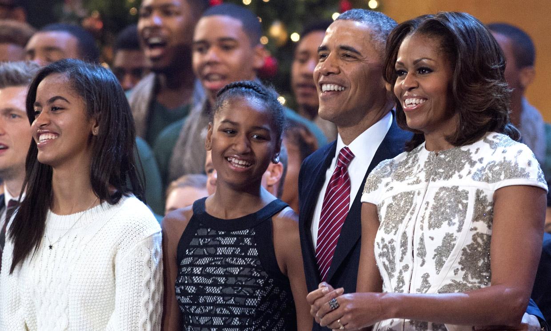 La dura experiencia de las hijas de Michelle y Barack Obama durante sus años en la Casa Blanca