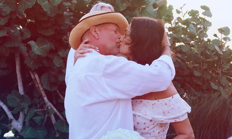 La boda de Bruce Willis y Emma Heming diez años después y en presencia de Demi Moore