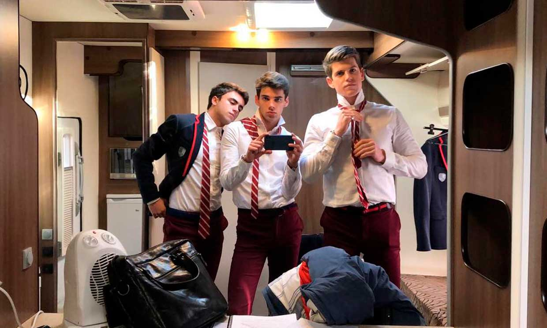 Los actores de 'Elite' avivan la emoción en la espera del estreno de su segunda temporada