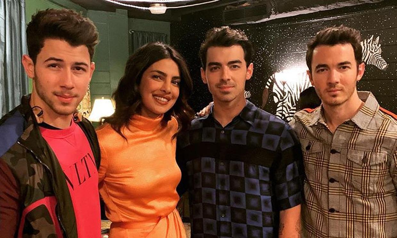 Priyanka Chopra, una más en el clan de los Jonas Brothers