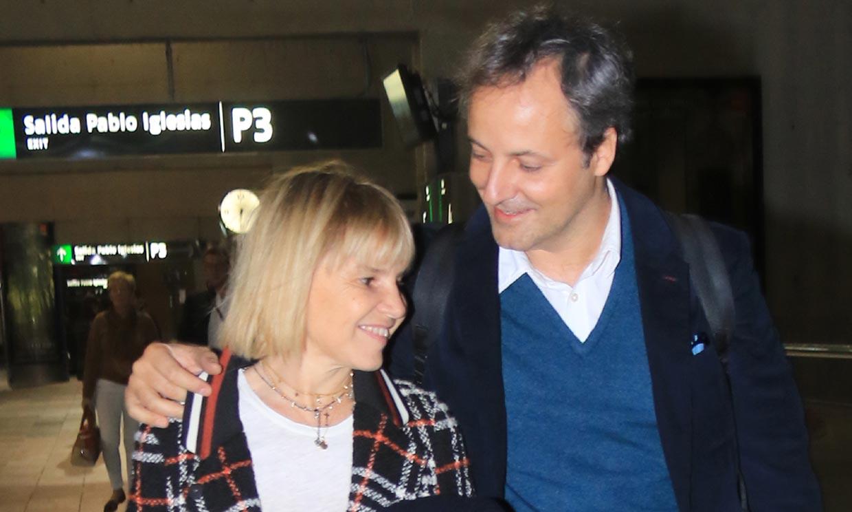 Un beso y un 'te quiero'... La espontánea declaración de Eugenia Martínez de Irujo a Narcís Rebollo