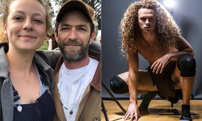Jack y Sophie, los hijos de Luke Perry, retoman su vida tras la repentina muerte del actor
