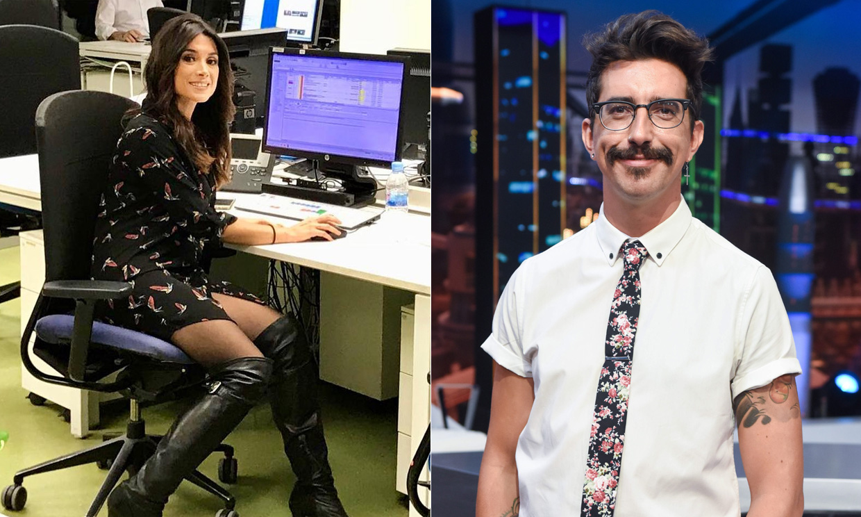 Arancha Morales, la nueva presentadora de informativos Telecinco que sale con Marron