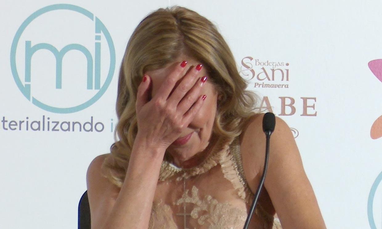 Ana Obregón rompió a llorar al dedicarle un premio a su hijo, Alessandro