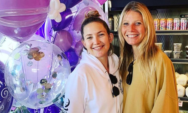 Gwyneth Paltrow sorprende a Kate Hudson con una fiesta por su 40º cumpleaños