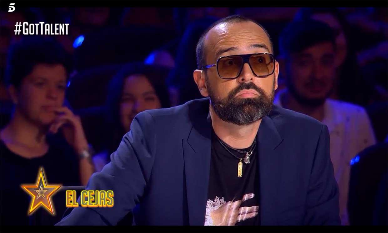 Risto Mejide recibe una divertida advertencia de 'El Cejas' ante la cuarta semifinal de 'Got Talent'