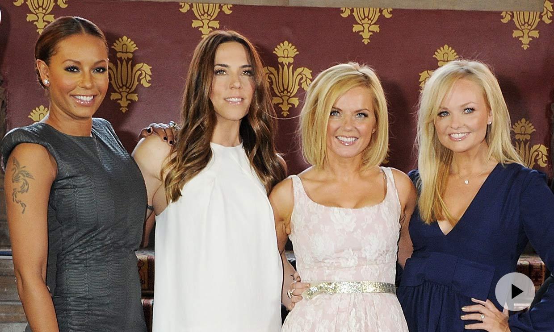 Las Spice Girls ya se preparan para la gira: así son sus divertidos ensayos