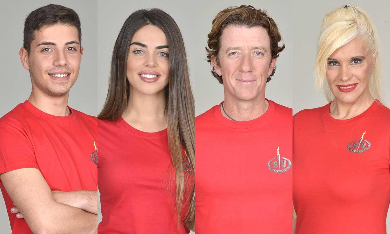 Colate, Violeta, Jonathan y Loli, primeros nominados de 'Supervivientes'