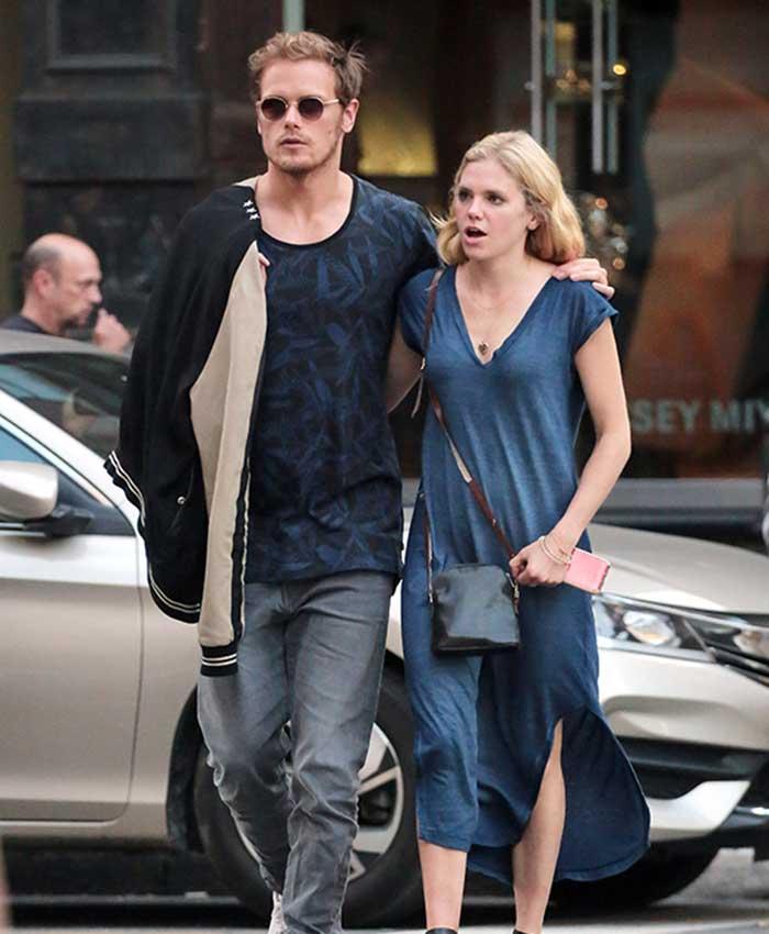 Sam Heughan, protagonista de 'Outlander', una vida llena de misterio