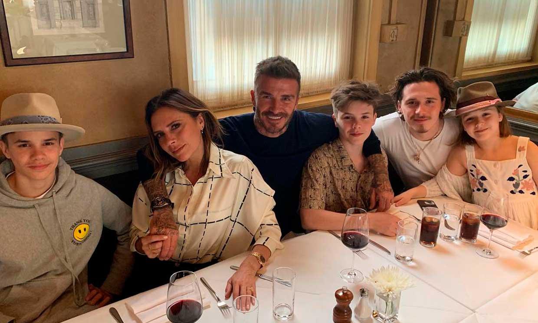 David Beckham recibe la felicitación más romántica en su 44 cumpleaños