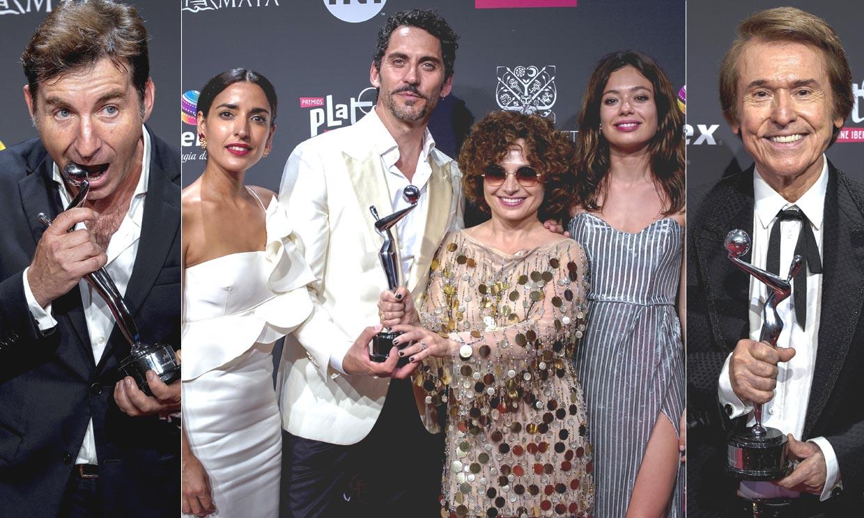 Los triunfadores españoles en los Premios Platino