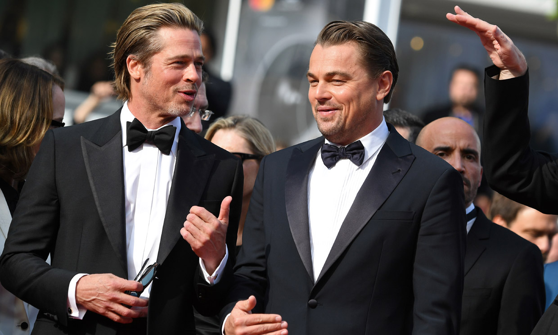 FOTOGALERÍA: Y volvió Brad Pitt a Cannes, con sus bromas, risas y ganas de pasarlo bien