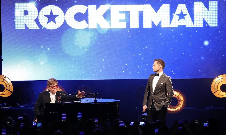 Sir Elton John y el Festival de Cannes dan su aprobado al 'biopic' sobre el artista, 'Rocketman'