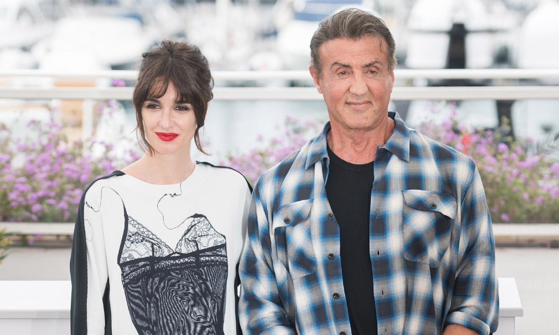 Paz Vega y Sylvester Stallone, un binomio de éxito en Cannes