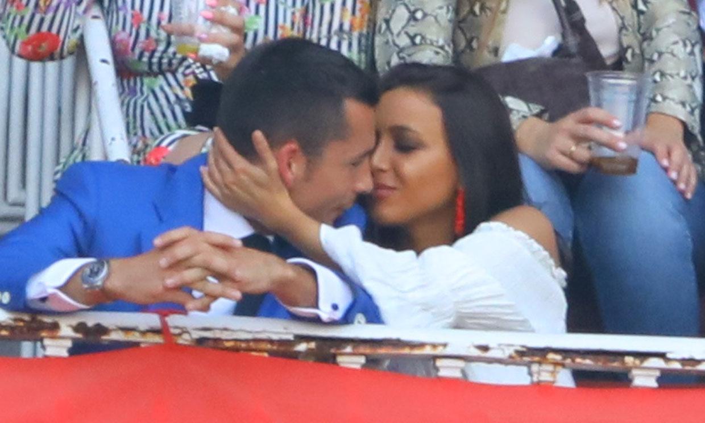 Benji Aparicio y la periodista deportiva Claudia García: pasión en los tendidos