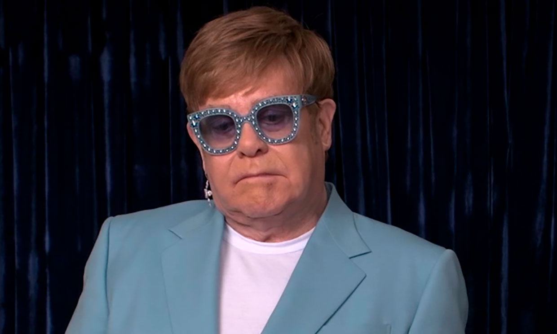 La confesión de Elton John sobre su biopic: 'Lloré al ver mi película'