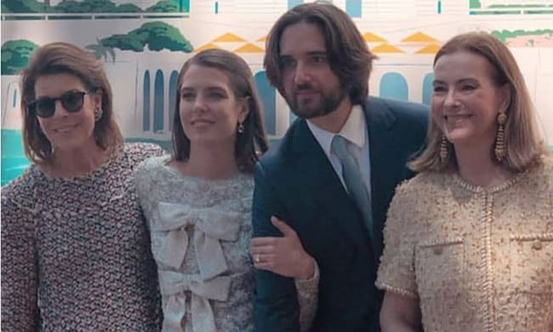 Carolina y Carole, las otras protagonistas de la boda monegasca