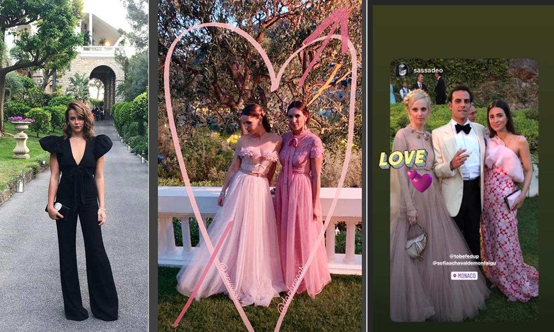 Tatiana Santo Domingo, Alessandra de Osma... desvelan su look' para bailar en la boda de Carlota Casiraghi y Dimitri Rassam