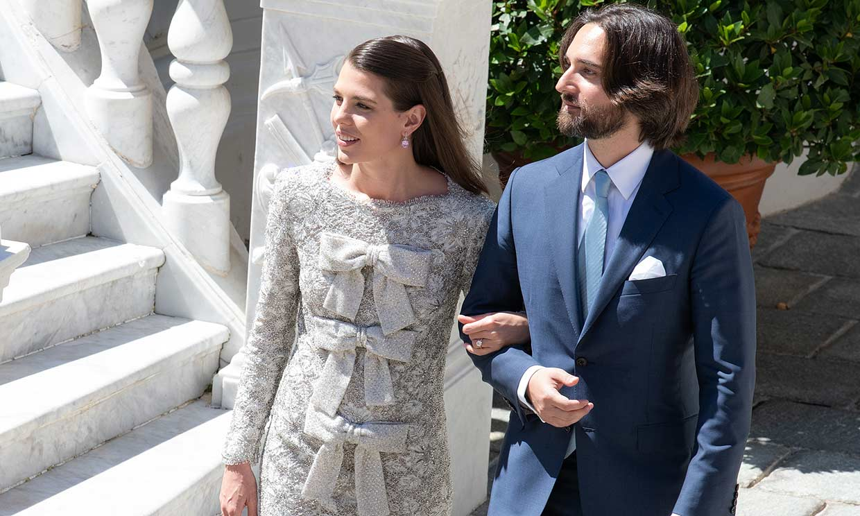 Las fotos de la boda civil de Carlota Casiraghi que todavía no habíamos visto