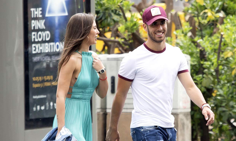 El futbolista del Real Madrid Marco Asensio y su novia, Sandra Garal, ya no esconden su relación